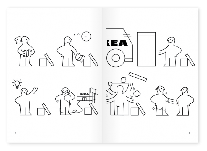 IKEA instructions graphic