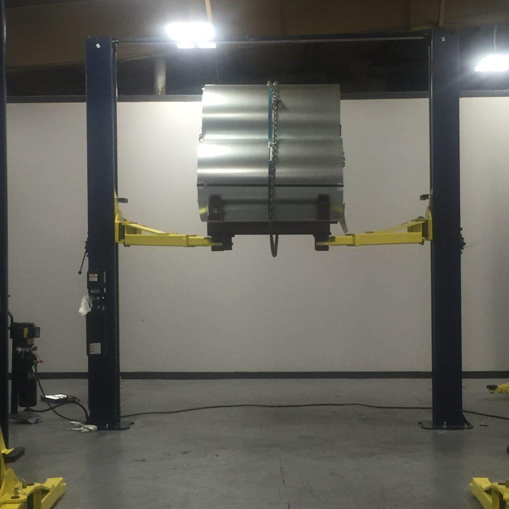Car Lift Testing 3