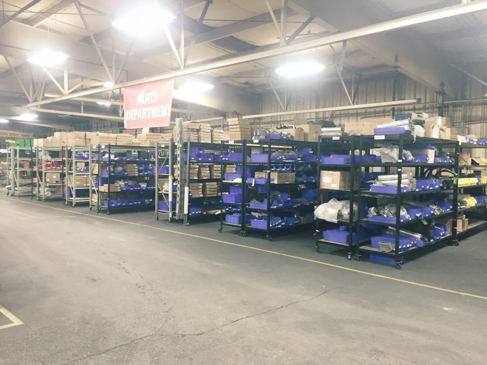 Eagle Parts Department