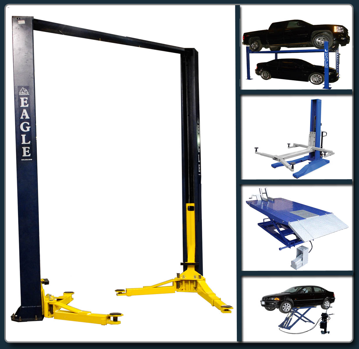 Types of Eagle Car Lifts
