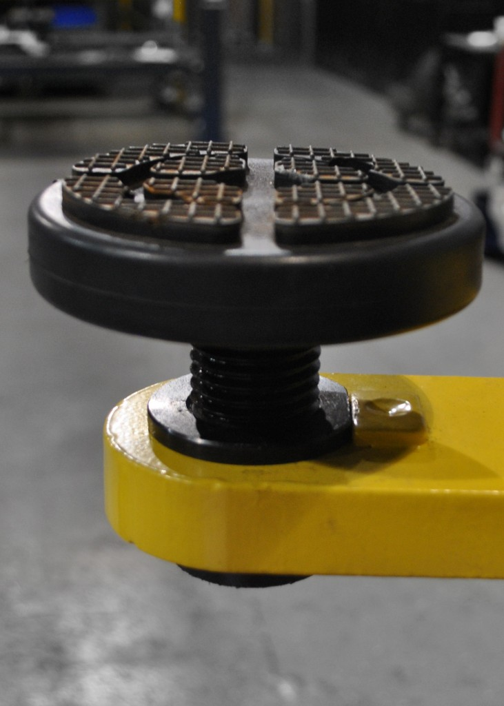 Car Lift Adjustable Height Adapters Down