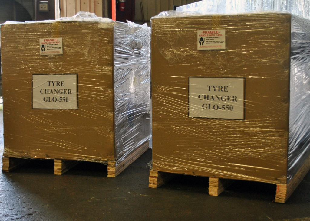 Tire Changer Shipping Boxes