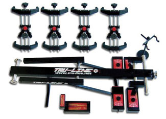 Tru Line Laser Guided 4 Wheel Alignment System Eagle