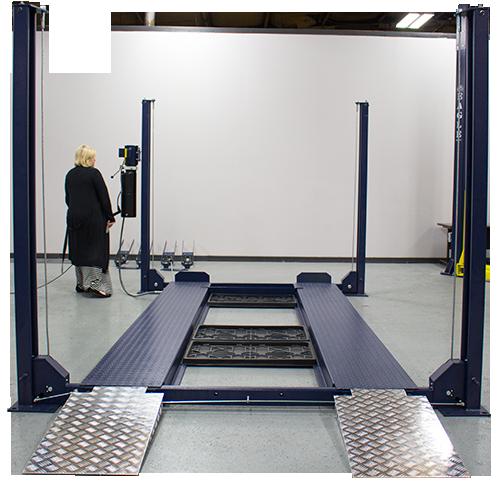 8000 Lb Capacity Xlt Extra Large 4 Post Car Lift Eagle Equipment