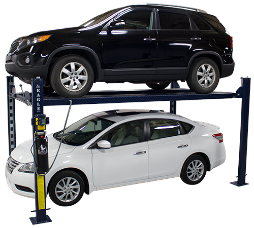 Ms on 4 Post Car Storage Lifts