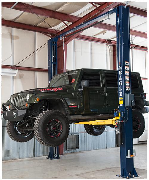 2 Post 11000 Lb Symmetric Car Lift